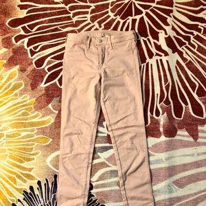 H&M Powder Pink Skinny Jeans
